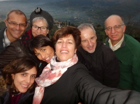 The group in Cortona