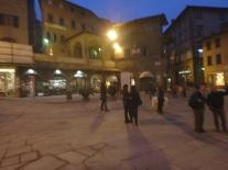 Cortona's main piazza