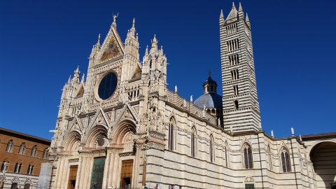 The Duomo, Santa Maria dell'Assunta, which I will walk past every day.