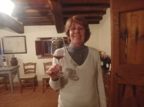 Our hostess Veronique Peeters
