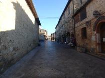 Inside the castle, Monteriggioni