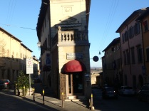 Street corner, Colle Val d'Elsa
