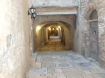 Walkway in Colle Val d'Elsa