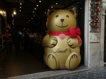 A Lindt chocolate store near the Pantheon. Fun!
