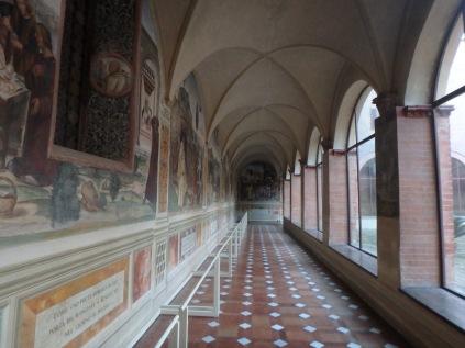 Portico inside the Abbey