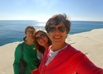 A groupie on La Scala - Claudia, Venera, me