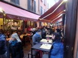 Lunch crowd, downtown Bologna