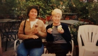 Me and Mom in Cortona, Italy, enjoying a delicious gelato. 2003