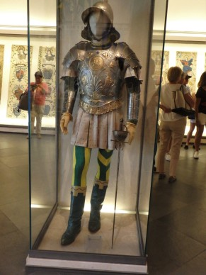 A historic Bruco costume