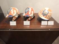 Helmets of fantini, or jockeys.