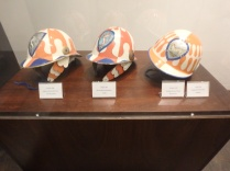 Helmets of fantini, or jockeys.