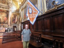 Fabio, the general manager of the Unicorn contrada's church and museum. He's seen eight Palio victories for the Unicorn, twice the horse finished without the rider. And that's OK.