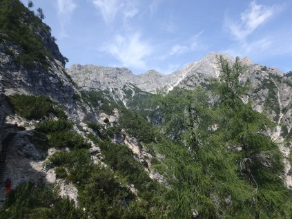 When one goes hiking in the Dolomites, these are the views you're faced with at every turn.