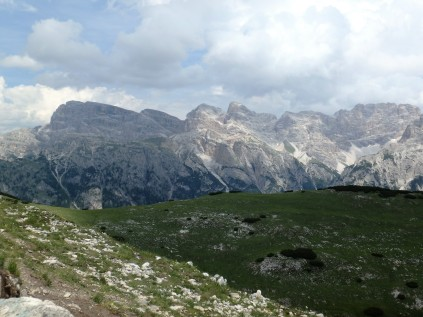 Panorama from atop Monte Specie, 7,500 feet up.