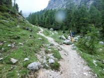 Peter, the path and still, no rain!