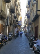 Day one in Naples. Walking near Piazza Martiri