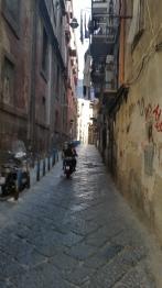 Side street, Naples