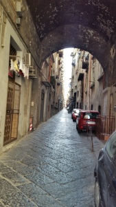 Every side street and vicolo in Naples is a view.