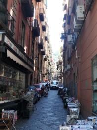Side street in the Spanish Quarter