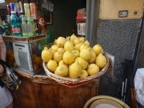 Lemons for spritzes.