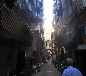 Via Supportico d'Astuti, which continues to Via Solitaria