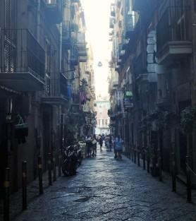 Via Solitaria, where Sophia Loren filmed many scenes in her movies.