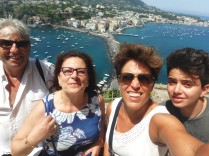 Groupie! on Ischia.