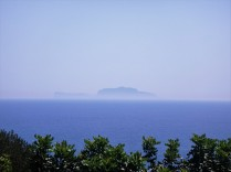 Capri in the distance.