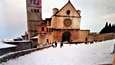 The Basilica of St. Frances, Dec. 26 1986.