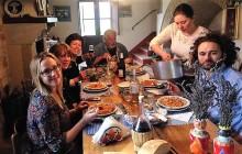 Family lunch in campagna. Grazie a Anna e sua famiglia.