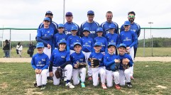 Presenting the YMCA Grosseto Little League team.