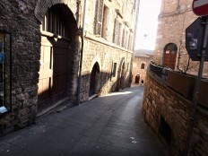 Just another street in Assisi