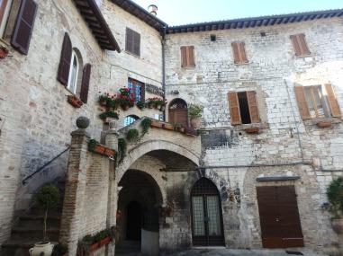 Assisi buildings.
