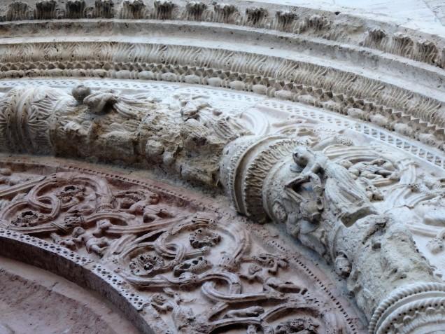 Detail above the door of San Rufino.