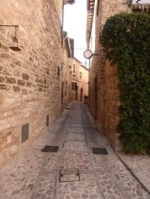 Spello street.