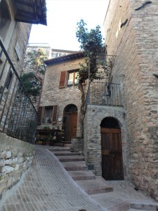 Steps. Assisi.