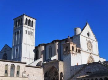 The Basilica of San Francesco, outside the lower chamber.