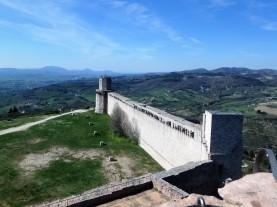 A view of the Rocca Maggiore.