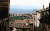 Umbrian countrysid outside the walls of Montefalco