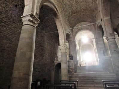 Inside the Church of San Silvestro