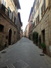 A street in Montalcino