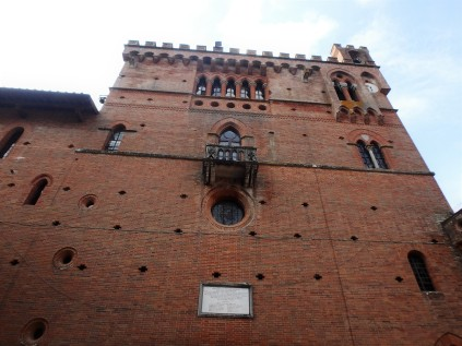 Castle Brolio, where Baron Bettino Ricasoli invented the Chianti formula in 1872.