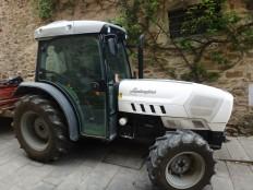 A Lambourghini tractor.