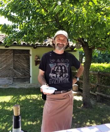 The cheesemaker himself, Silvio Pistone