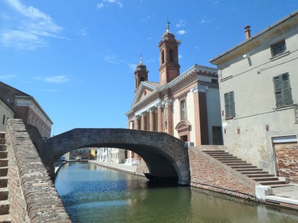 The bridge at Comacchio