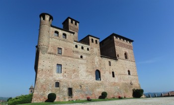The Grinzane Cavour Castle. Inside is a museum about the Barolo and the wines and Camillo Benso, the Count of Cavour and Italy's first prime minister.