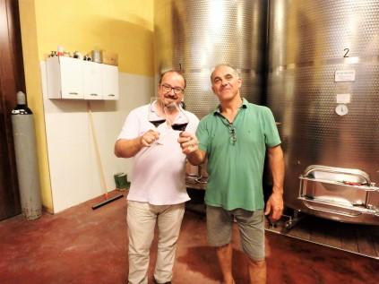 Sandro and Signore Corino. Cheers!