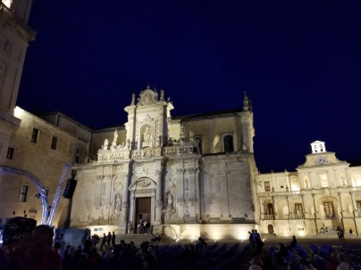 Lecce is the capital city of the province. The cathedral was founded in 1144 and completed in 1689.