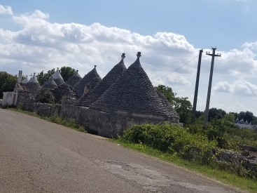 More Trulli along the road