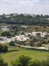 Trulli in the valley.
